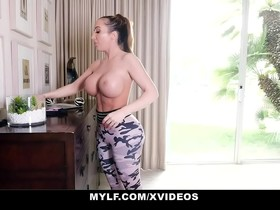 MYLF - Thick Mature Milf Has Hard Rough Sex With Her Stepson