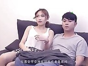 Chinese Step Sister Showing her Body in Hotelroom