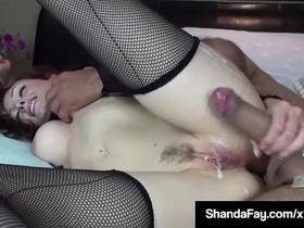 Horny Housewife Shanda Fay Gets Fucked By Voyeur Peeping Tom
