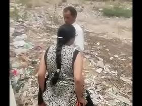 aunty fucking outdore
