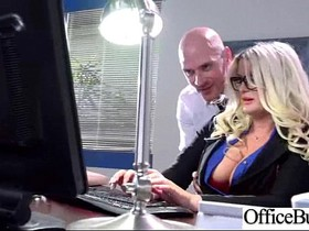 Office Sex Tape With Slut Worker Busty Girl vid-17