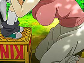 Choking Initiator Cartoon Muscles