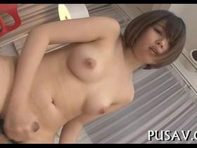 Wet fat pussy oriental floozy